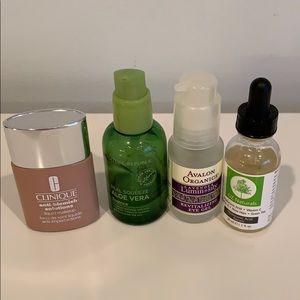 4 pc Clinique makeup 💄 aloe vera Avalon Oz Netura
